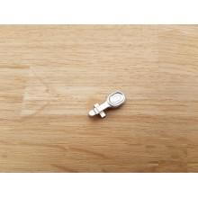 CNC aluminium bolt catch for M4