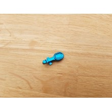 CNC aluminium bolt catch for M4 Light Blue