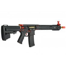 KING ARMS BLACK RAIN ORDINANCE RIFLE RED AND GOLD EDITION