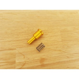 CNC aluminium bolt forward assist A M4 Gold