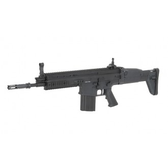 FUCILE SCAR H CQC FULL METAL BLACK D-BOYS