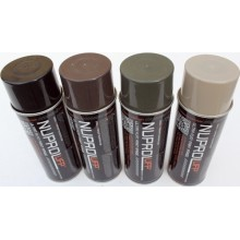VERNICE SPRAY UFP FLAT BLACK NUPROL