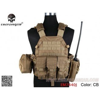 TMC lbt 6094 style Plate Carrier w 3 pouches coyote brown