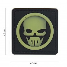 Patch PVC ghost Fluo
