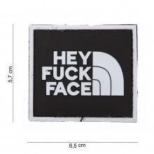 Patch PVC hey fuck face