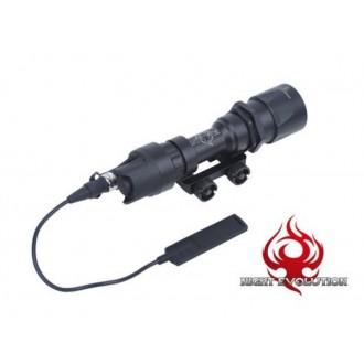 Torcia M951 con remoto Night Evolution Nera