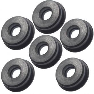Boccole da 8 mm piene in acciaio auto lubrificanti FPS