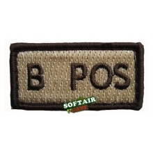 PATCH B POSITIVO TAN