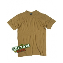 T-SHIRT COYOTE - TAN