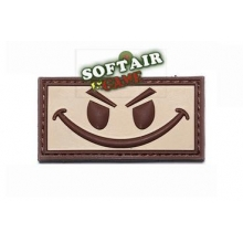 PATCH IN 3D SMILE TAN