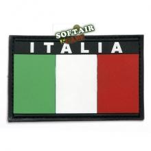PATCH BANDIERA ITALIA IN 3D