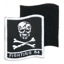 PATCH Fighting 84 CON VELCRO