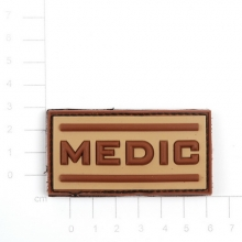 Patch PVC medico tan