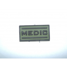 Patch PVC medico oliva