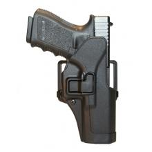 Fondina rigida tipo Serpa per Glock black