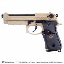 M9A1 NAVY VERSION TAN GAS SCARRELLANTE FULL METAL