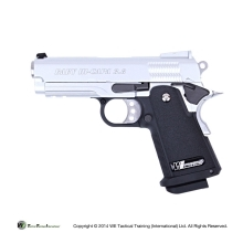WE PISTOLA 3.8 SILVER B VERSION A GAS