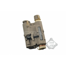 AN-PEQ-15 CON TORCIA E LASER ROSSO CON LENTI IR DESERT