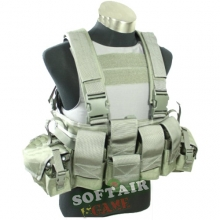 TMC LBT 1961A Chest Rig Ranger Green