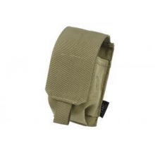 TMC Cordura MOLLE Smoke Grenade pouch tan