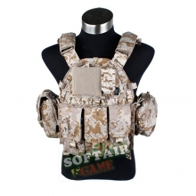 TMC lbt 6094 style Plate Carrier w 5 pouches AOR1