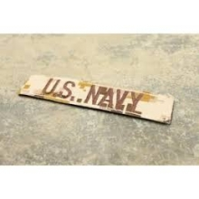 TMC Velcro Army Patch US NAVY AOR1