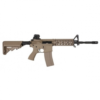 G&G FUCILE M4 RIS CQB RAIDER TAN LONG G&G (GG09T)