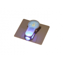 STROBE LIGHT LED BLUE S LIGHT VELCRO DESERT