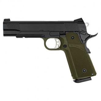 KJ WORKS Pistola 1911 (KP-05) Hi-Capa CO2 BlowBack Od