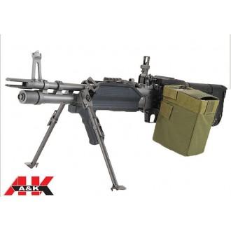MITRAGLIATRICE MK43 NAVY SEAL FULL METAL A&K