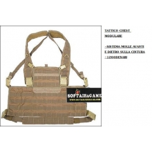 CHEST CORDURA 1200DEN TAN