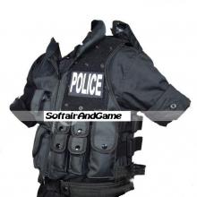 GILET TATTICO POLICE 1000D