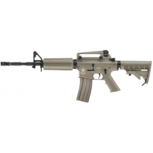 ICS FUCILE M4 A1 RETRACTIL VERSION FULL METAL TAN