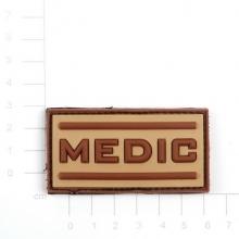 Patch PVC medico tan