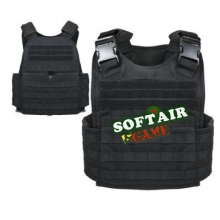 GILET TATTICO PLATE CARRIER NERO replica lbt 6094