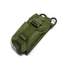 TMC Double magazine pouch w Medical scissors holder od