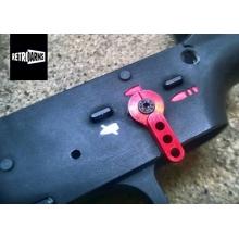 SELETTORE CNC CUSTOM M4 RETRO ARMS RED