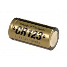 BATTERIA CR123 3 V x 1400 MAH CLAWGEAR